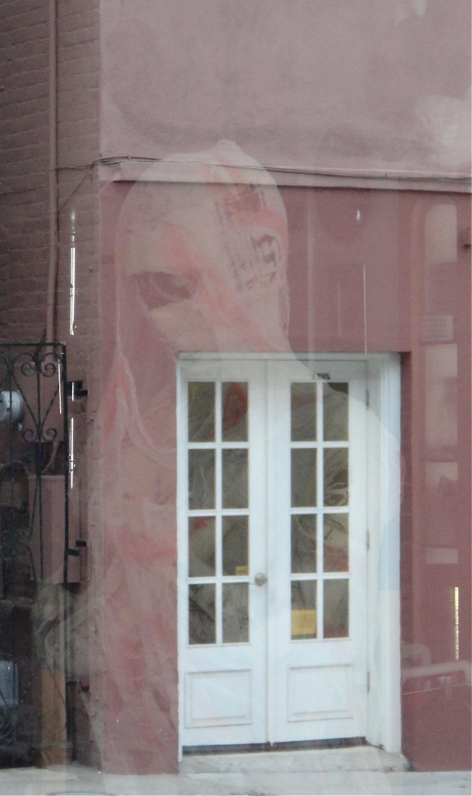 My little town Halloween; the haunted doorway!